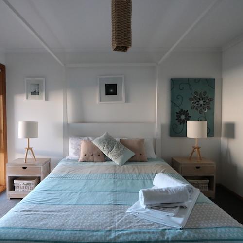 Lazy Sails accommodation bedroom Robe